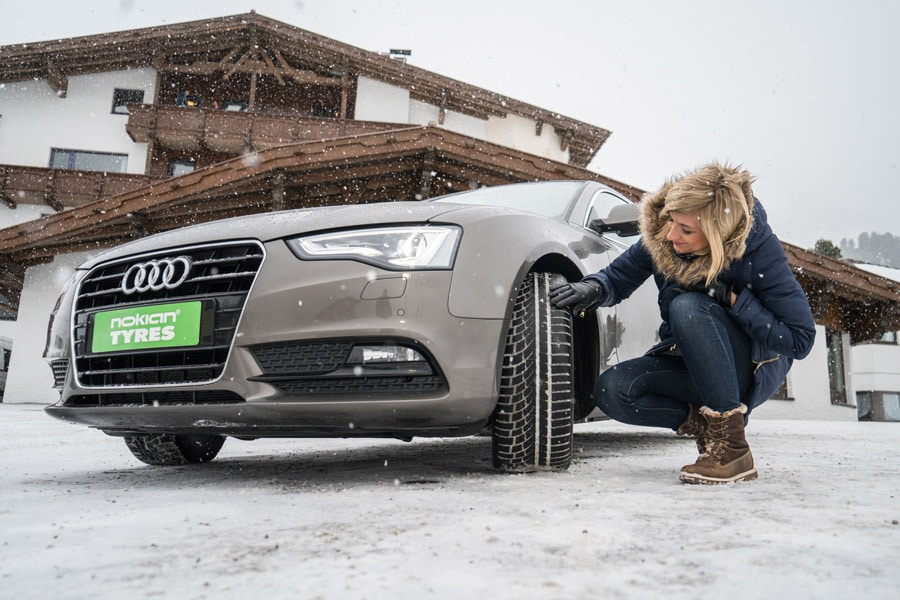 Nouveaux pneus hiver Nokian