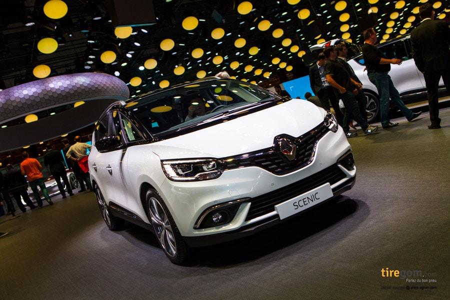 Goodyear équipe le nouveau Renault Scénic