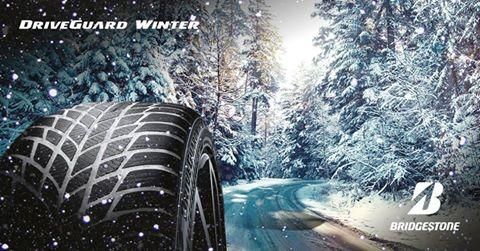 Le pneu hiver runflat Bridgestone Driveguard