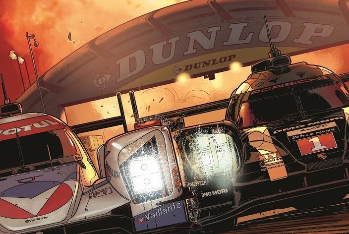 Michel Vaillant partenaire de Dunlop