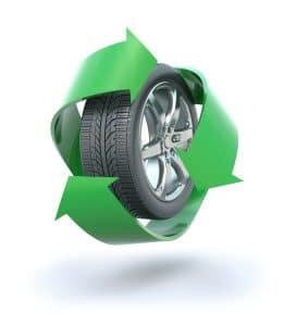 Les pneus poids lourd recyclés participent à la croissance verte