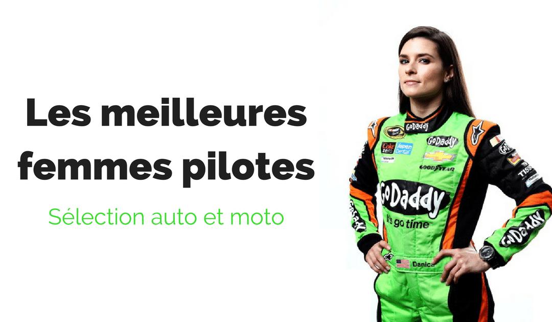 12 femmes célèbres dans le sport auto et moto