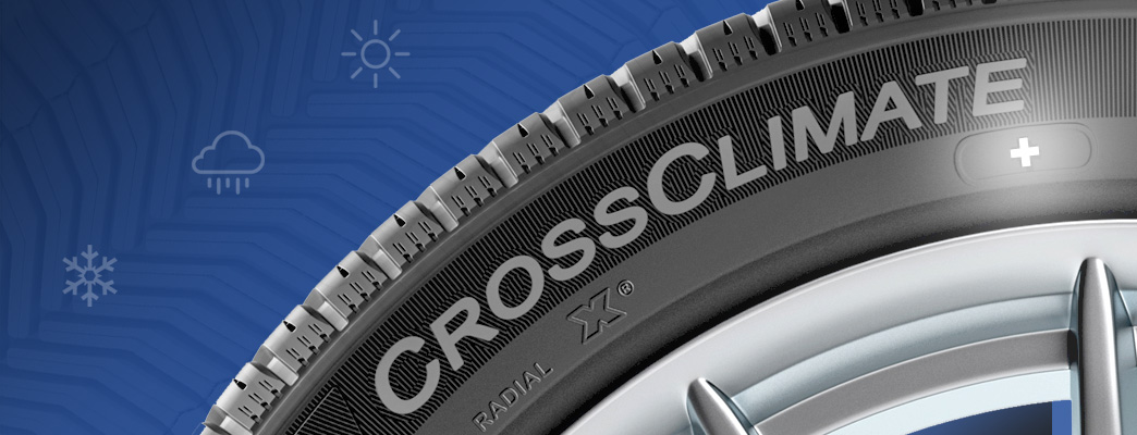 Le nouveau pneu Michelin CrossClimate+