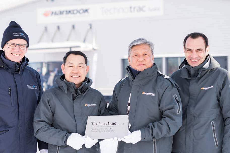 Nouveau centre tests Hankook