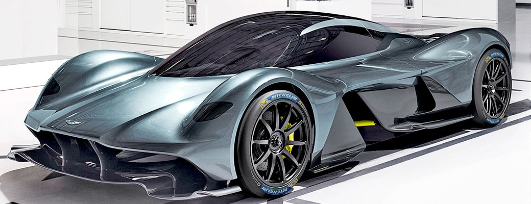 L'Hypercar Valkyrie d'Aston Martin équipée par Michelin !