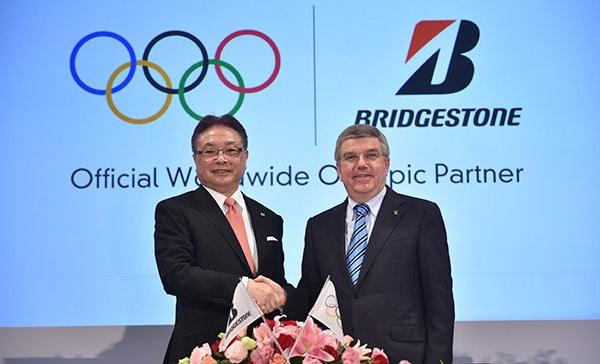 Bridgestone partenaire Jeux Olympiques