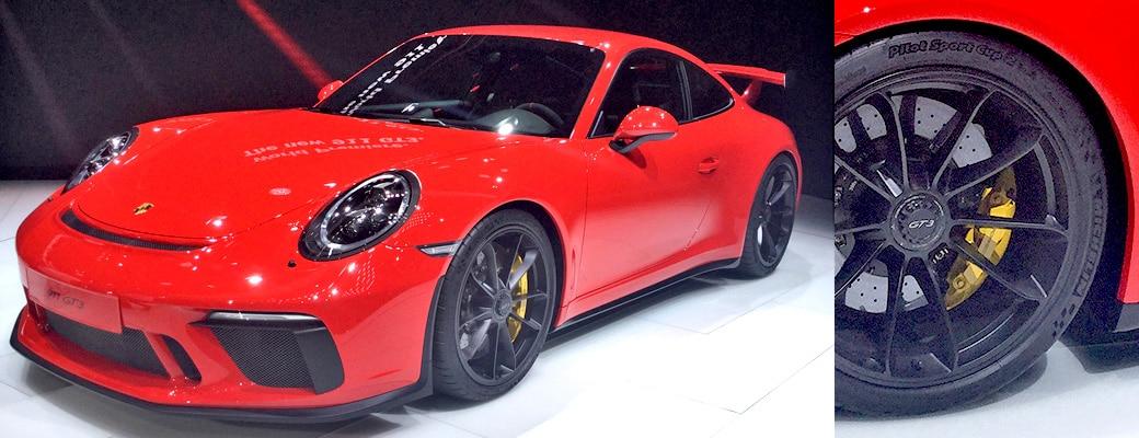 Nouvelle Porsche 911 GT3 pneu Michelin Pilot Sport Cup 2 N1