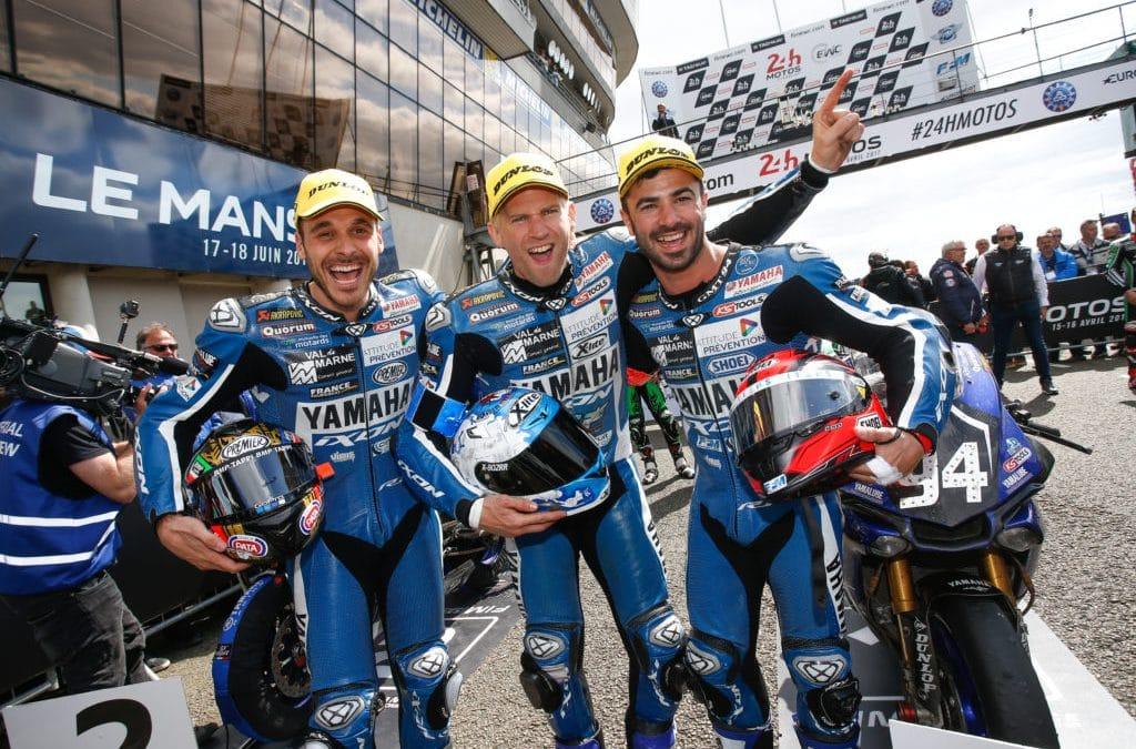 Yamaha et Dunlop triomphent aux 24 Heures du Mans Endurance