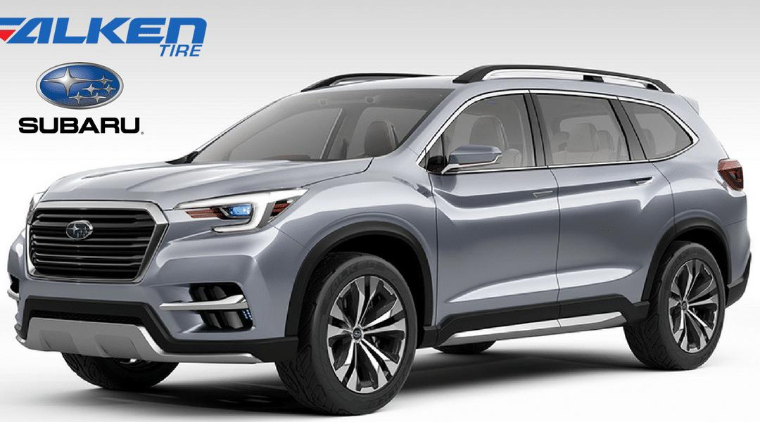 Des pneus Falken pour équiper le Subaru Ascent Concept