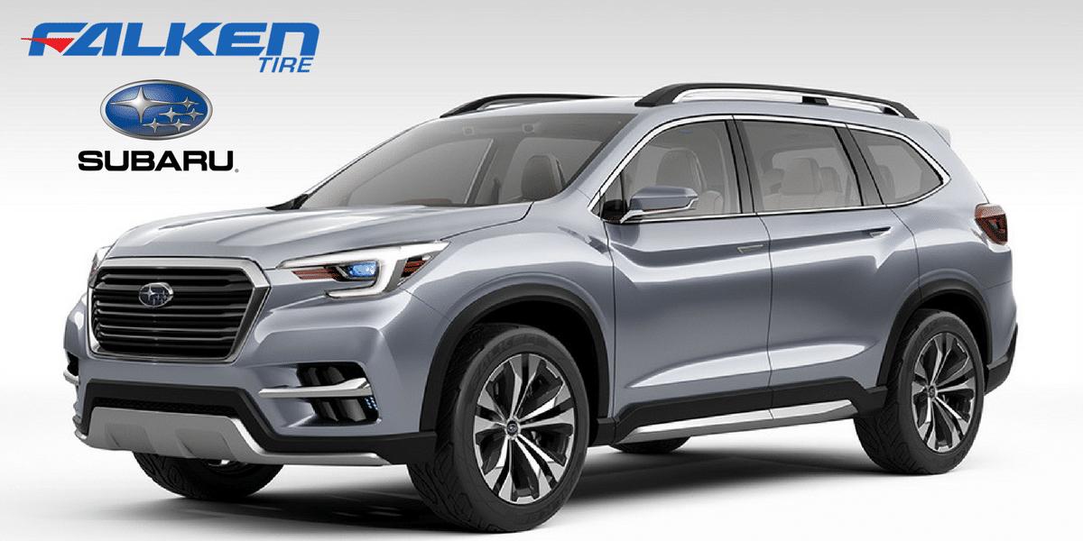 Falken equipe le SUV Concept Subaru