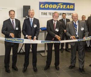 Inauguration nouveau laboratoire Goodyear au Luxembourg