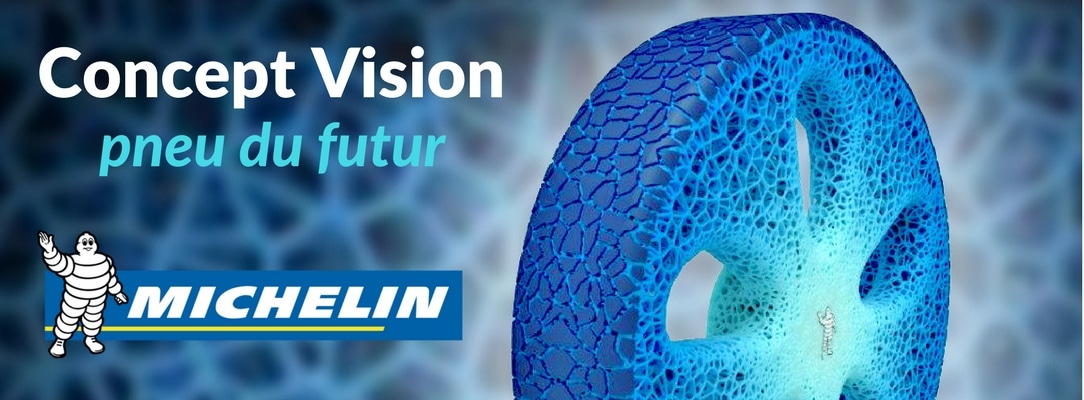 Pneu innovant Concept Vision Michelin presente au Movin'on