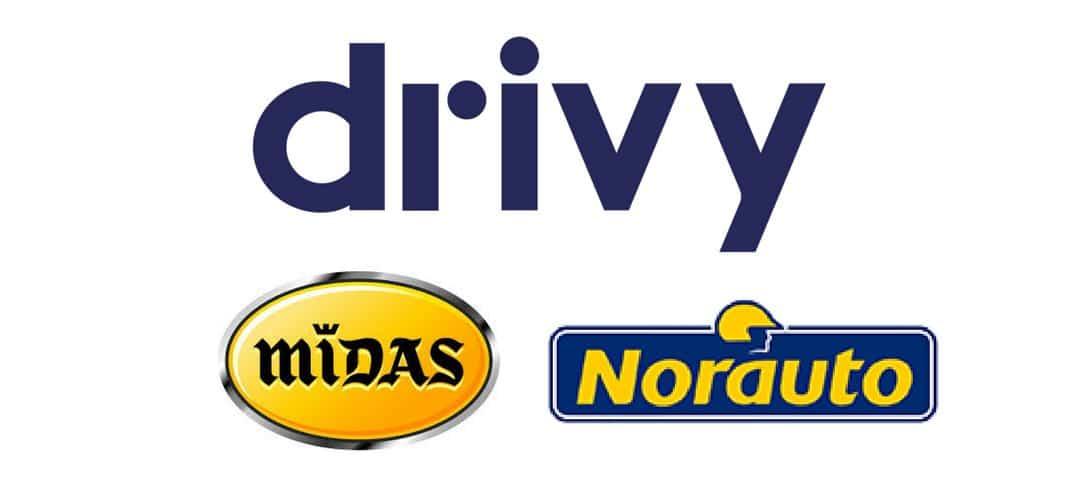 Drivy, Norauto et Midas deviennent partenaires !