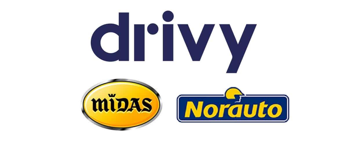 Drivy a deux nouveaux partenaires : Norauto et Midas