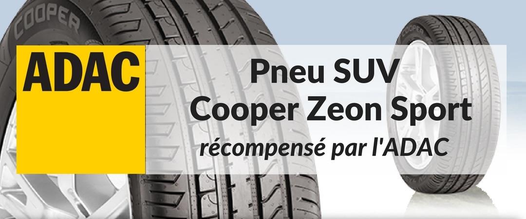 Le pneu SUV Cooper Zeon