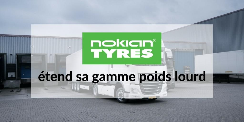 Nokian etend sa gamme poids lourd
