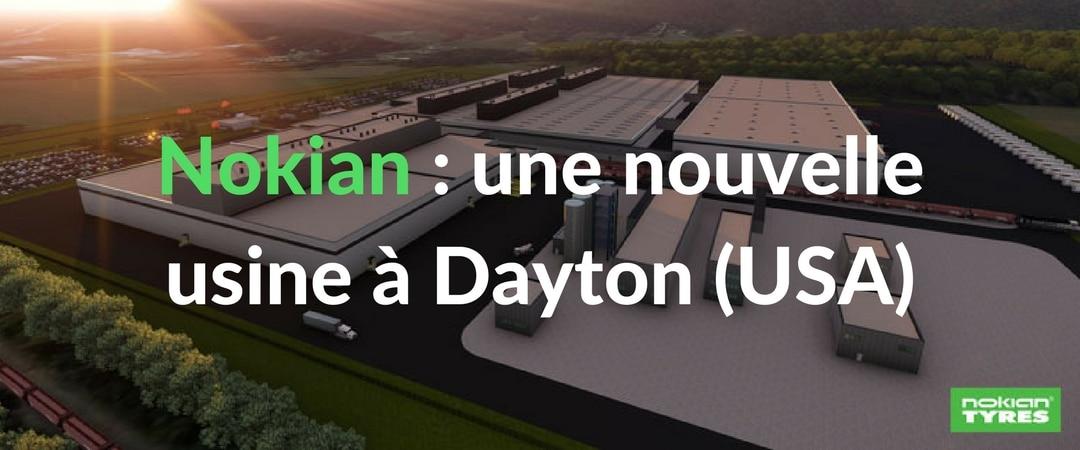 Nokian va construire une nouvelle usine dans la ville de Dayton aux Etats-Unis