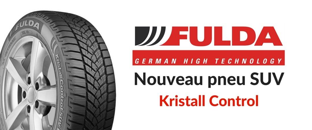 Nouveau pneu SUV Fulda Kristall Control