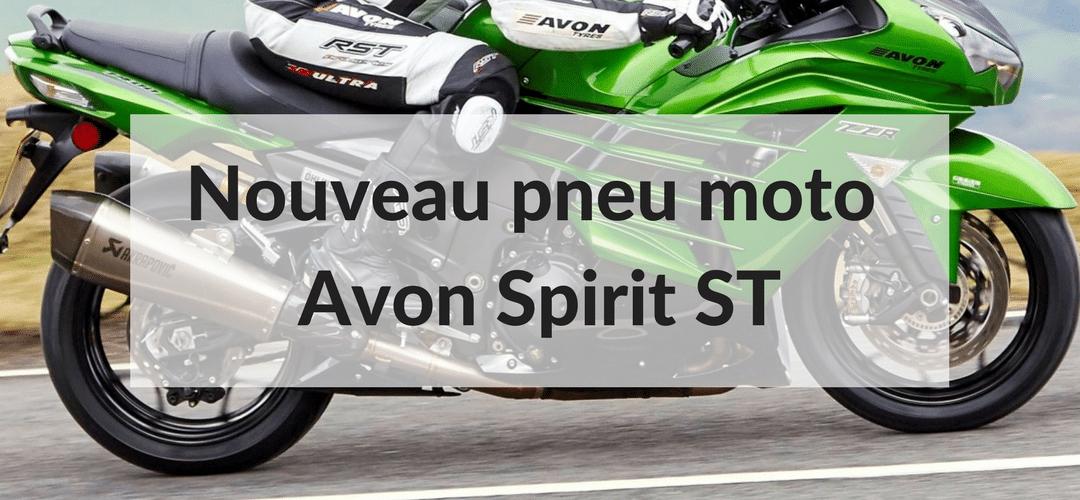 Avon Tyres lance le nouveau pneu moto hypersport Spirit ST