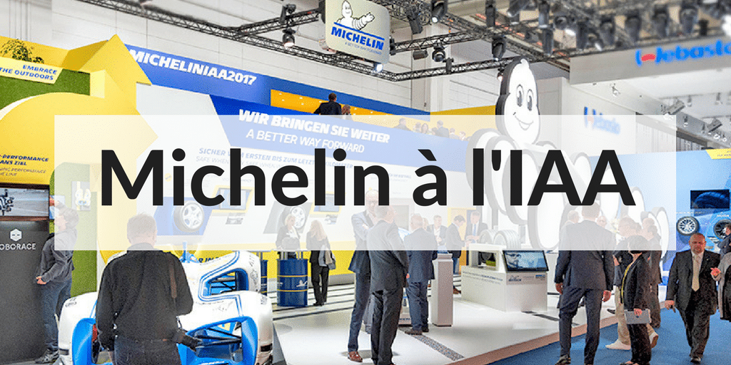 Michelin IAA Salon Automobile Francfort