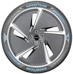 Goodyear Efficientgrip nouvelle version pour voiture éléctrique
