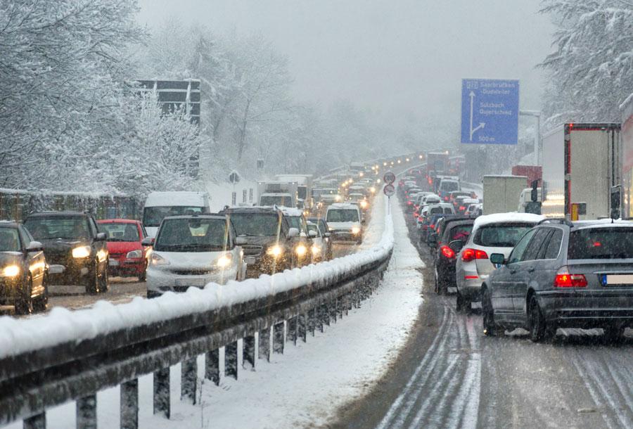 conduite sur neige