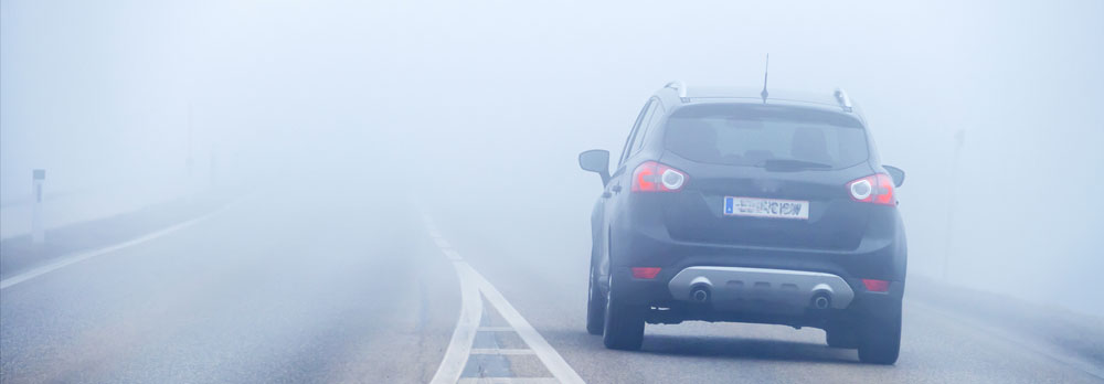 Conduite par temps de brouillard