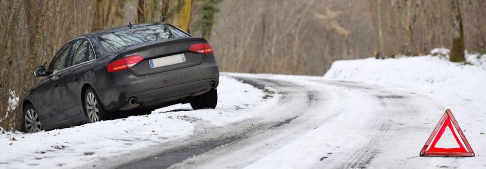 conduite sur la neige