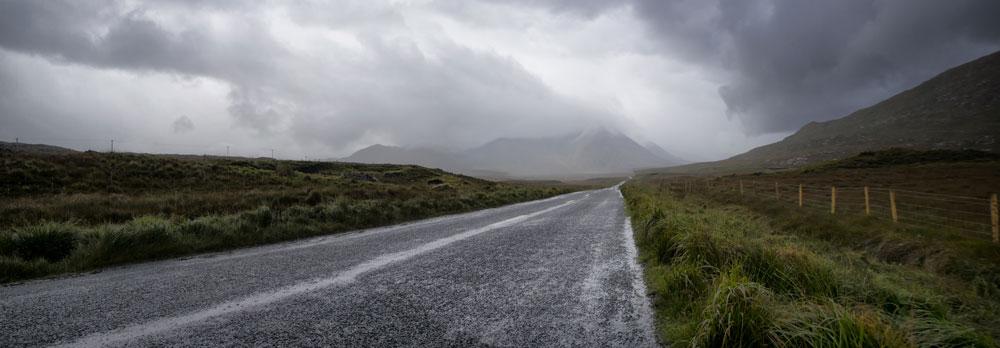 conduite sous la pluie