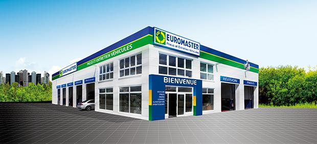 Les centres auto Euromaster en France