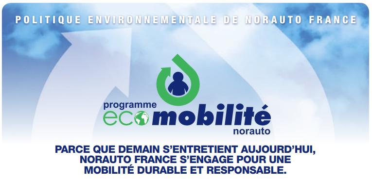 Norauto s'engage pour la protection de l'environnement