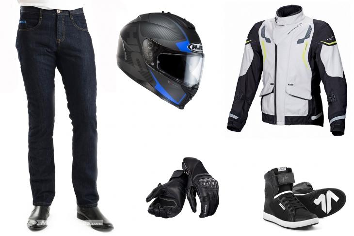 Choisir le bon equipement moto