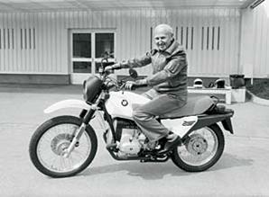 Ernst Henne pilote moto Metzeler