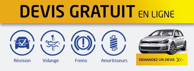 Euromaster propose un devis en ligne gratuit