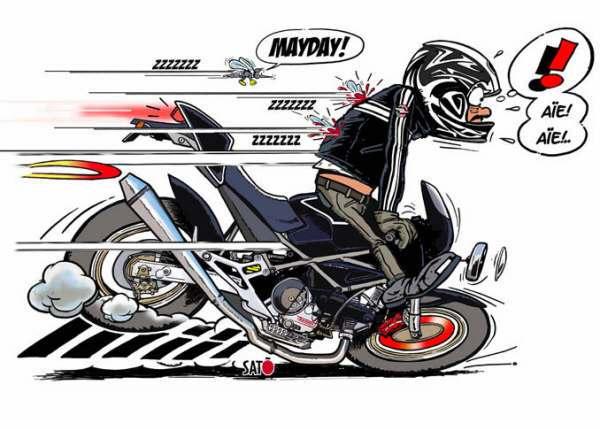 Bien freiner en moto