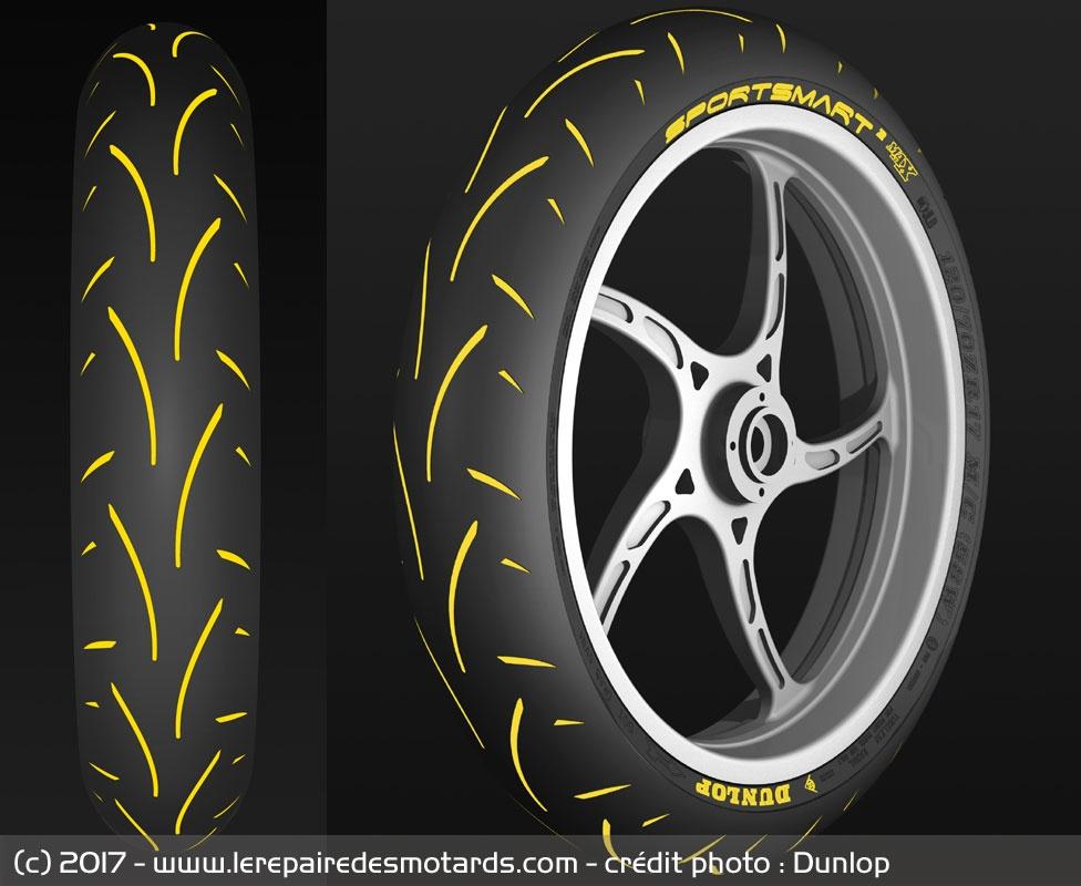 Profil pneu Dunlop sportsmart 2 Max