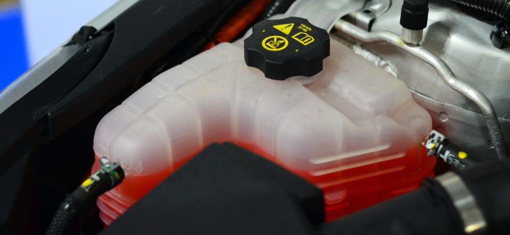 Liquide de refroidissement voiture