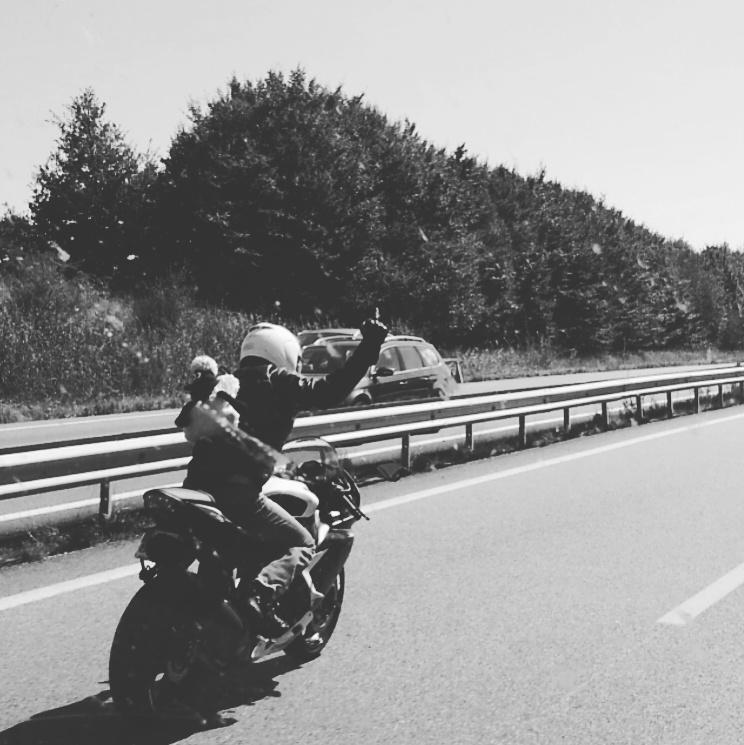 Moto Motard Connard Fuck