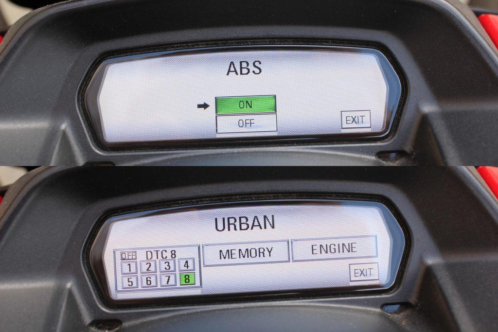 Assistance ABS sur moto