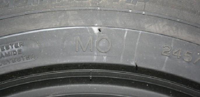 Homologation pneu Mercedes marquage MO