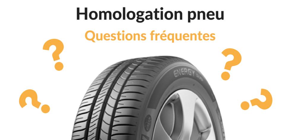 Les questions frequentes des automobilistes sur les pneus homologues