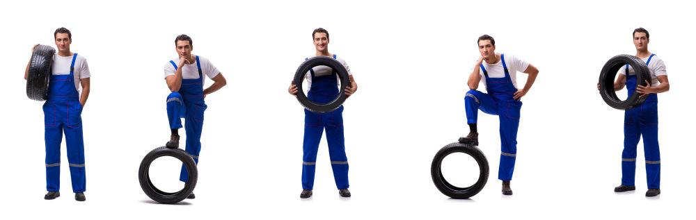 Faire monter ses pneus par un garagiste