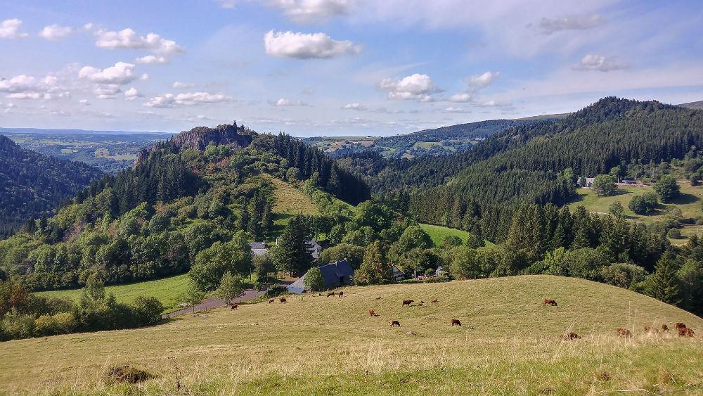 Paysage de Mont-Dore