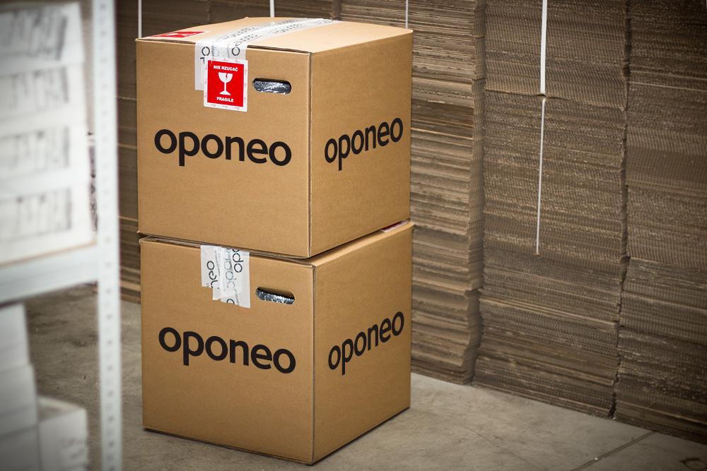 Livraison emballée par Oponeo