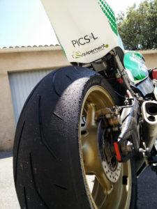 Usure pneu arriere Avon 3D Xtreme