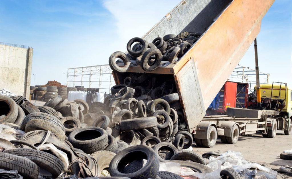 Les sociétés qui prennent en charge vos anciens pneus