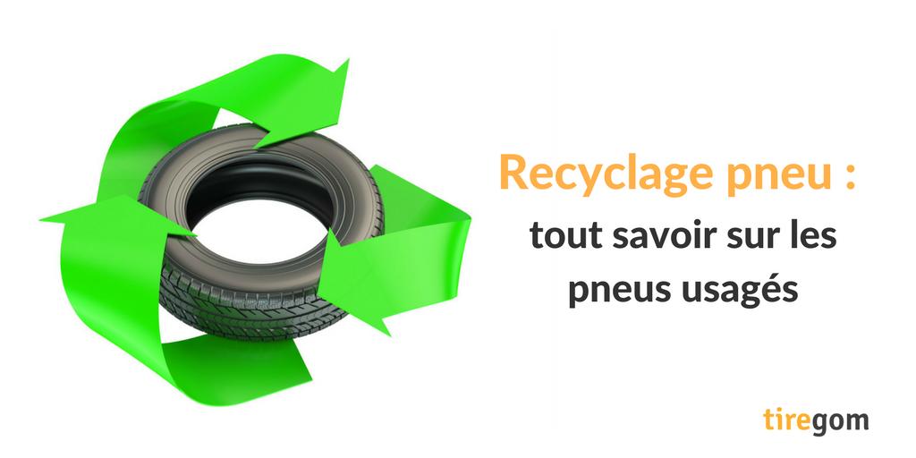Recyclage pneumatique : tout savoir sur les pneus usagés