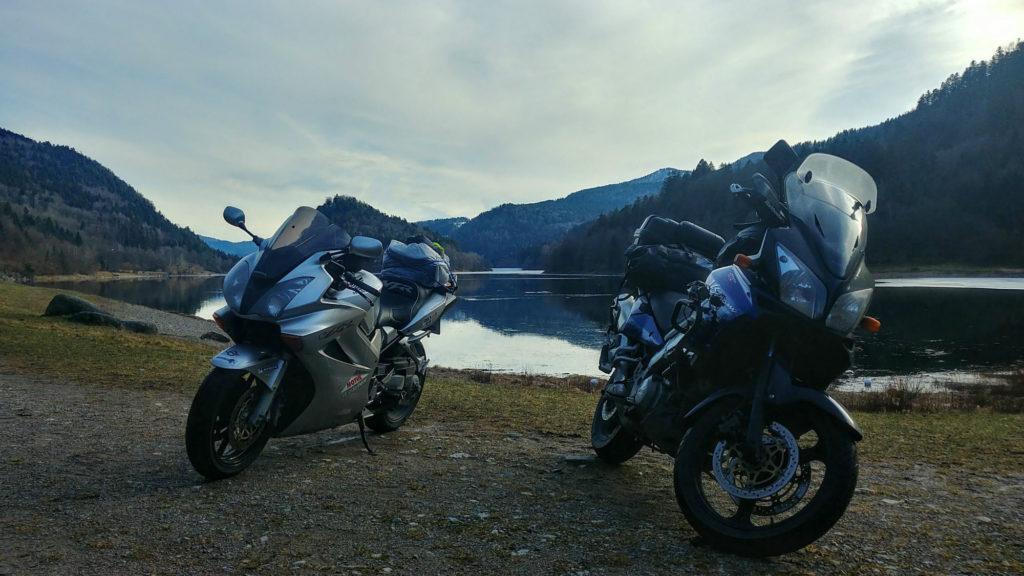 Roadtrip moto en V-Strom dans l'est de la France