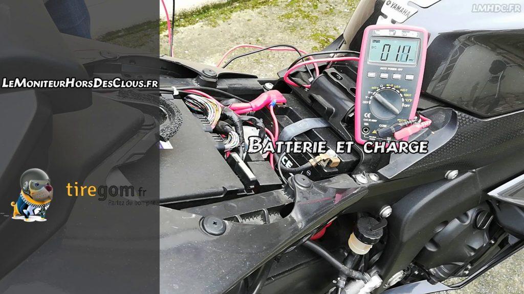 Vérification batterie sur moto avant le printemps