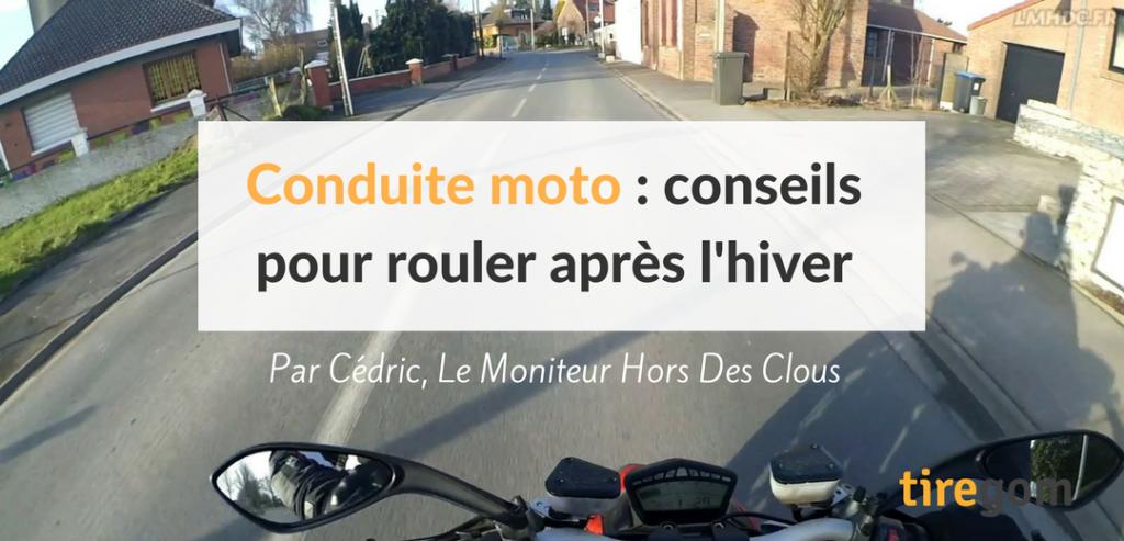 Conseils pour conduire sa moto au printemps